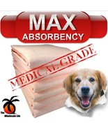 200 Dog Puppy Pads 36x36 Training Wee Wee Chux Pee Potty Housebreaking Underpads