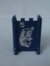 Stratego 1977 Blue Captain #5 Replacement Board Game Piece - $1.97
