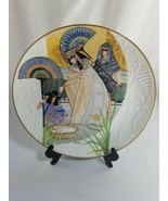 Knowles Biblical Mother's Series - The Pharaoh's Daughter and Moses Plate - $9.85