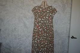 Karin Stevens NWT floral career, dressy casual dress SZ 14 - $15.00