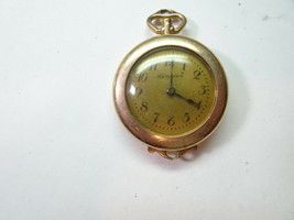 HAMPDEN MOLLEYSTARK GOLD FILLED WATCH FOR REPAIR OR TRENCH PARTS NO STEM... - $144.16