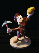 Extremely Rare! Walt Disney Scooge McDuck Finding Gold on Klondike Fig S... - $366.30