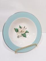 Turquoise Magnolia Lifetime China Berry Bowl LTC12 by Lifetime - $27.99