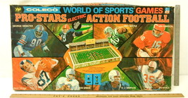 Rare 1970 Coleco Pro Stars Electric Action Football Game World Of Sports 5765A - $126.41