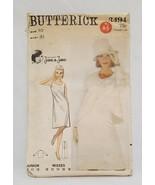 Dress Jacket Semi Fitted Misses Size 10 Bust 31 Butterick 3494 Uncut Vin... - $14.99