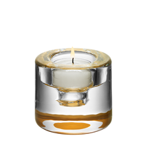 Kosta Boda Shine Crystal Votive, Gold #6340162 - $54.40
