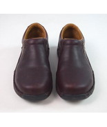 RED WING SHOES Reddish Brown Leather Occupational Nursing Clogs Womens S... - $28.70
