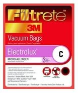 3M 67706 Electrolux Size C Filtrete Vacuum Bags 3 Count - $12.48