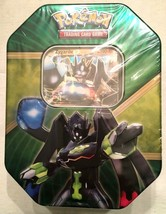 Pokemon 2016 Power Trio Zygarde EX Tin Sealed 4 XY Booster Packs Code Card NEW - $15.95