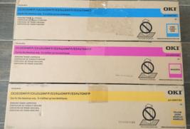 **Genuine** OKI Toner Cartridge Color Set - 44947305 / 06 / 07 - NEW - $74.24