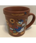 Disney Epcot Flower & Garden 2019 Donald Passholder Coffee Mug New - $22.02