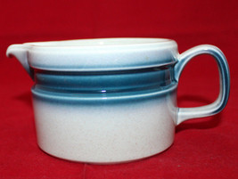 Wedgwood Blue Pacific Creamer Made in England Retro Oven to Table Vintage (B) - $26.10