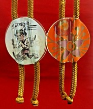 2 BOLO Ties mage from glass flowers and Siraya - $11.83