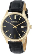 Caravelle New York Men's 44B106 Analog Display Japanese Quartz Black Watch - ₹21,085.67 INR