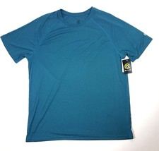 Champion Mens Size XL Extra Large Athletic Top Turquoise Jade 100% Polye... - $12.19