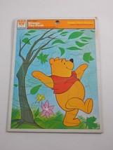 Whitman 1964 Walt Disney Winnie the Pooh Frame Tray Puzzle #4510-2A - $9.49