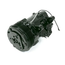 HC5005BK A/C Compressor Chromed Sanden SD-7 Type Aluminum (Black) image 2