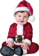 Baby Santa , Toddler Christmas Costume , 6 TO 12 MONTHS , Free Shipping - $30.00