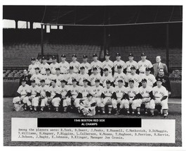 1946 Boston Red Sox 8X10 Team Photo Baseball Mlb Picture Al Champs - $3.95
