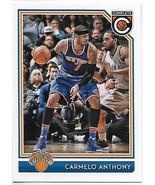 2016-17 Panini Complete No Back #158 Carmelo Anthony NM Near Mint Knicks - $0.75