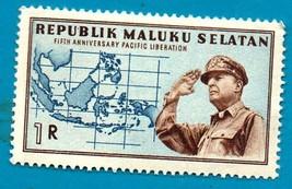 Indonesia 1950 MLH Maluku Selatan Douglas MacArthur - Pacific Liberatio... - $1.99