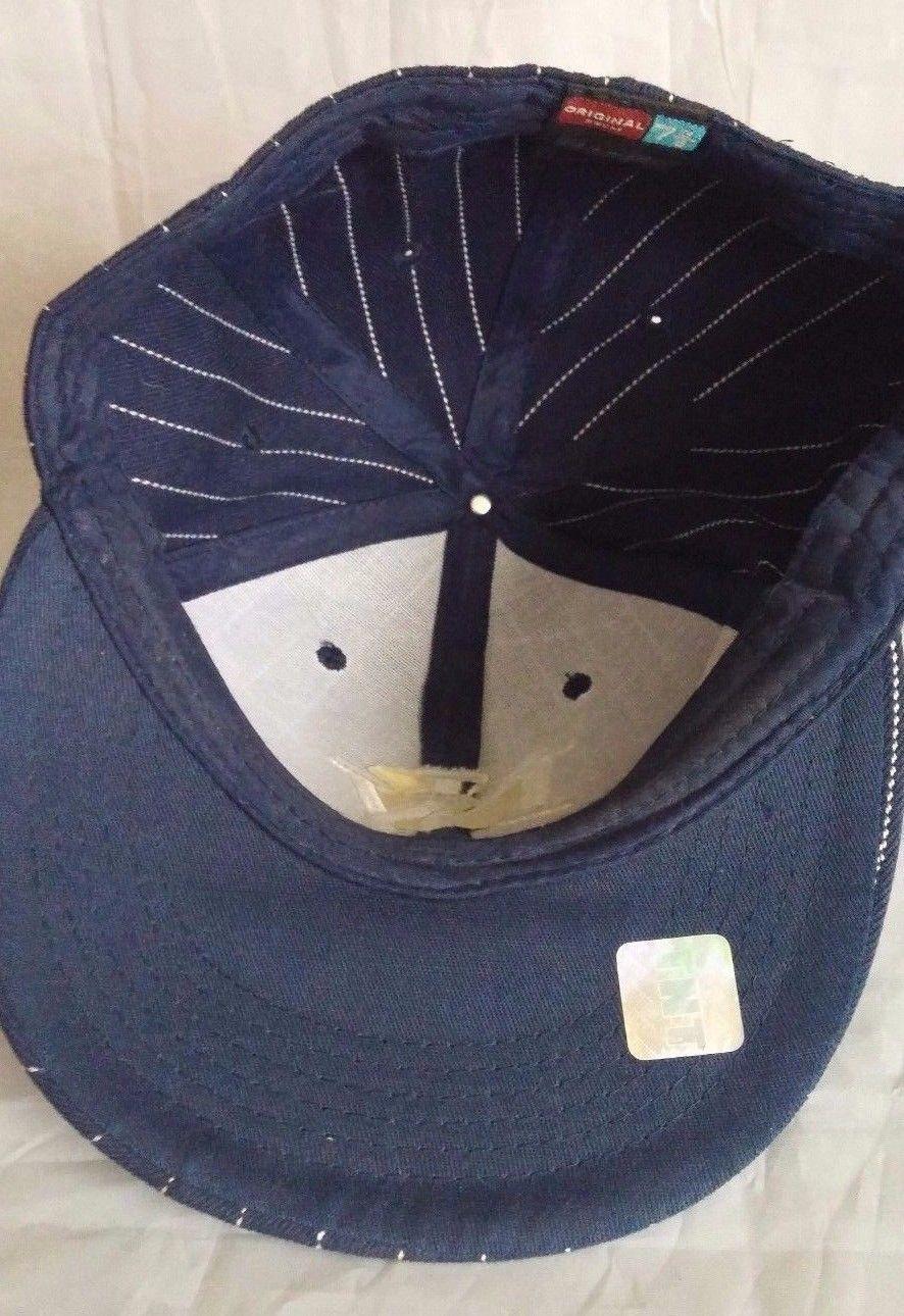 Mens Unique Headwear New York Yankees Striped Logo Baseball Hat XL TNT 59cm 73/8 image 5