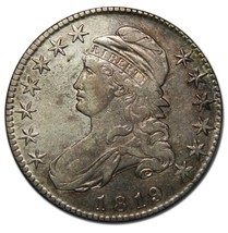 1819 Capped Bust Half Dollar 50¢ Coin Lot A 2231