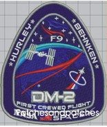 SPACEX DM-2 FIRST CREWED FLIGHT - F9 ISS NASA SPACE Mission PATCH Behnke... - $14.99