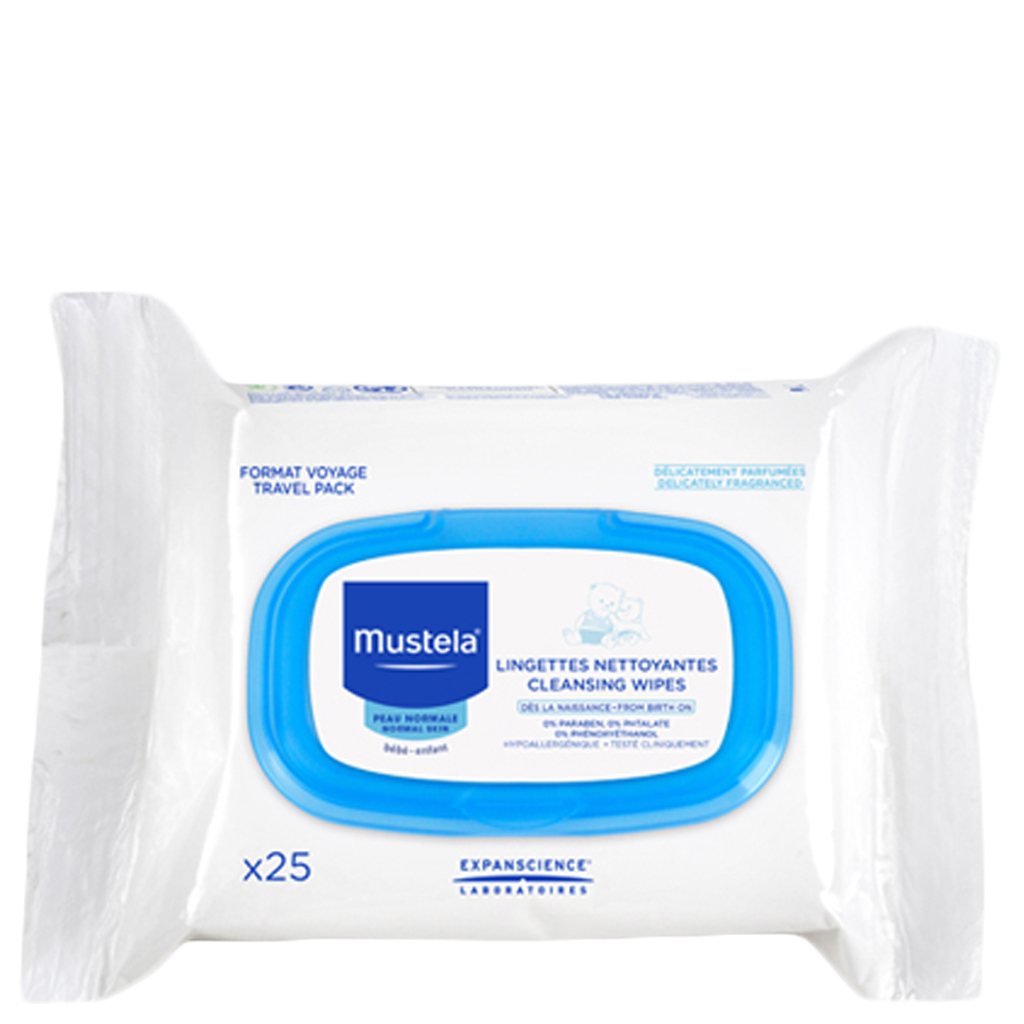 Primary image for Mustela Cleansing Wipes 25 Ct