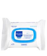 Mustela Cleansing Wipes 25 Ct  - $11.37