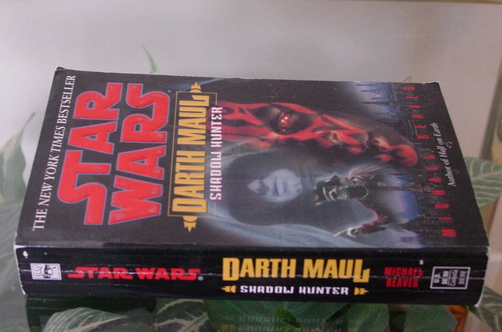 Michael Reaves STAR WARS: Darth Maul Shadow Hunter-2001 Collectible Lucas Books