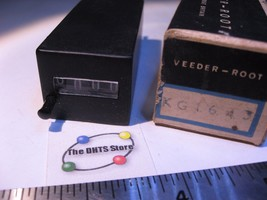 Veeder-Root KG1643 Electro-Mechanical Counter 4 Digit w. Reset 110VDC Us... - $18.99