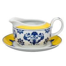 Vista Alegre Porcelain Castelo Branco Sauceboat & Stand - $138.00