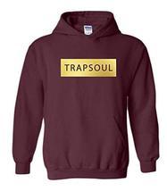 CC Bryson Tiller Trapsoul Hoodie Maroon (Gold Print) - $29.99