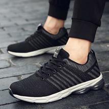 DR EAGLE flyknit man breathable men's running shoes sport Summer cushioning mesh 44wTqr