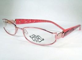 Phoebe Couture 215 pink women eyeglasses 49-18-130 Frames New Designer - $21.67