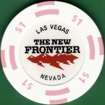 $1 Casino Chip, New Frontier, Las Vegas, NV. I74. - $3.99