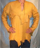 Men / Women's New Handmade Native American Goat Leather Ragged Style Shi... - $98.01+