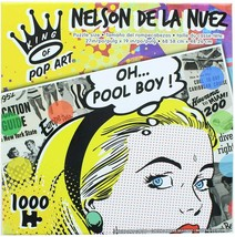 The Canadian Group King of Pop Art - Nelson De La Nuez - Oh... Pool Boy!... - $19.79