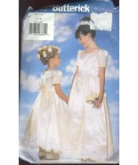 Butterick Sewing Pattern 5382 Girls Gown Size 2-4 Petticoat Party Dress - £3.14 GBP
