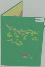 Lovepop LP1791 Robin Pop Up Card Slide Out Note White Envelope Cellophane Wrap image 2