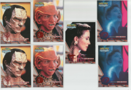 Greatest Alien Races 1999 FLEER/SKYBOX Star Trek Deep SPACE-LOT Of 13 - $7.69