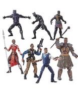 Black Panther Marvel Legends 6-Inch Action Figures Wave 2, Set of 8, Hasbro - €165,65 EUR