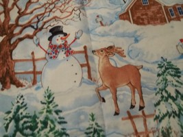 4 Placemats home for Christmas time,Quilted  cotton fabric  4 placemats ... - $9.89
