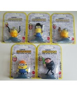 MINIONS The Rise of Gru MINI FIGURES Lot OF 5 Collectibles New - $29.60