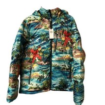 Polo Ralph Lauren RRL P-Wing Outrigger Hawaii Design Down Jacket Mens Size Large - $210.70