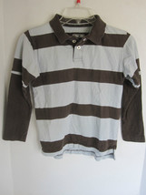 Boys Urban Pipeline Brown Striped Long Sleeves Shirt Size S - $6.79