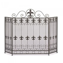 FRENCH REVIVAL FIREPLACE SCREEN - $86.18