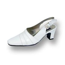 PEERAGE Susie Women Wide Width Leather Dress Slingback Shoes  - $53.95