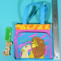 "Vintage Disney The Lion King Simba Nala Comb Child Purse Small 7"" x 8"" T... - $39.95"